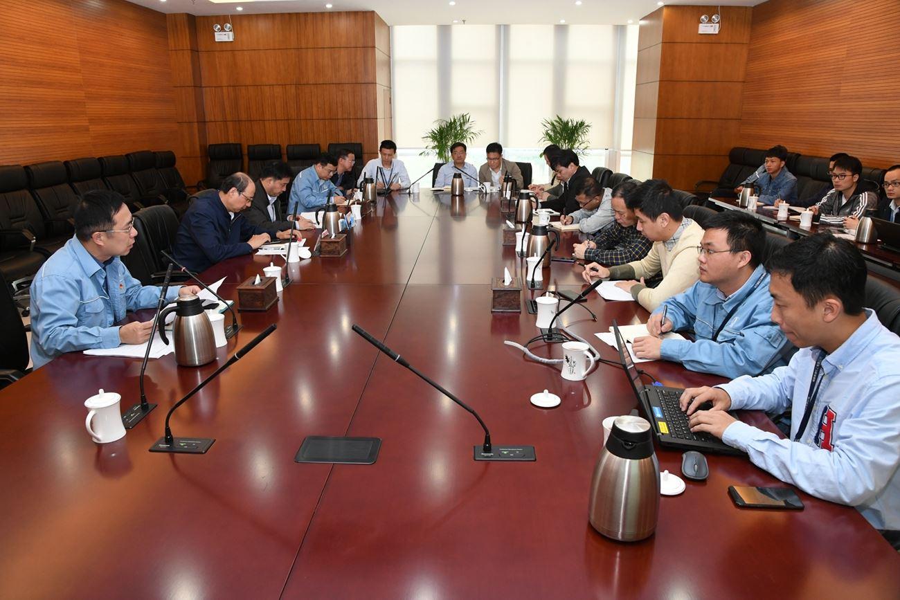 公司召开古雷石化项目服务小组启动会
