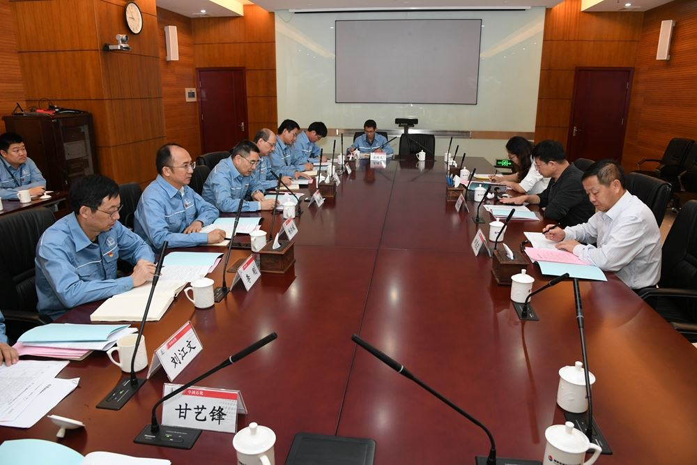 集团公司巡回指导组深入福建炼化开展调研指导